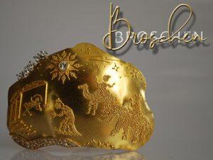 Broschen von Meisteratelier für Goldarbeiten Eva-Christine Höfelmaier