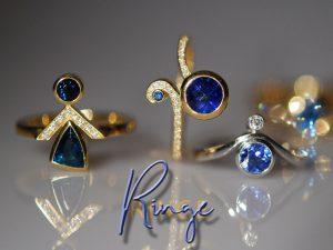 Ringe von Meisteratelier für Goldarbeiten Eva-Christine Höfelmaier